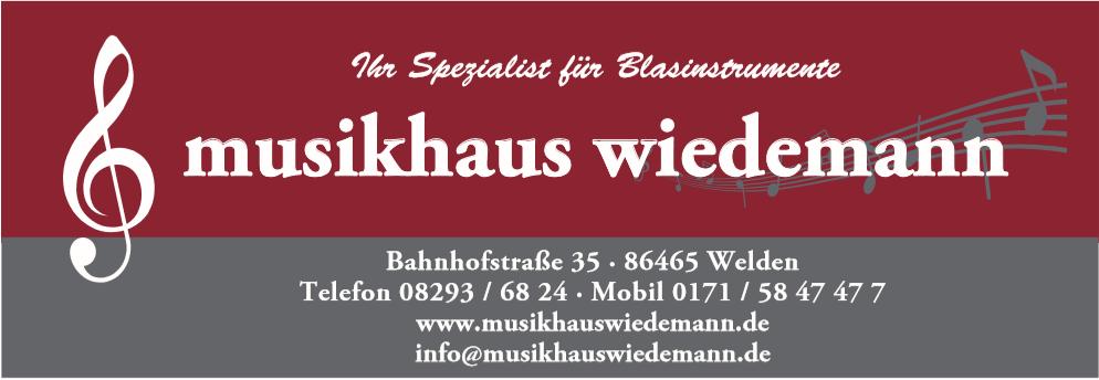 Musikhaus Wiedemann